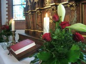 Altar der St.-Johannes-Kirche in Groß Escherde