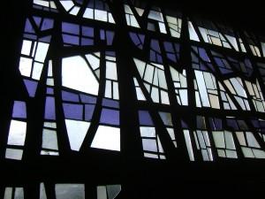 Kapellenfenster Nordfriedhof Hildesheim