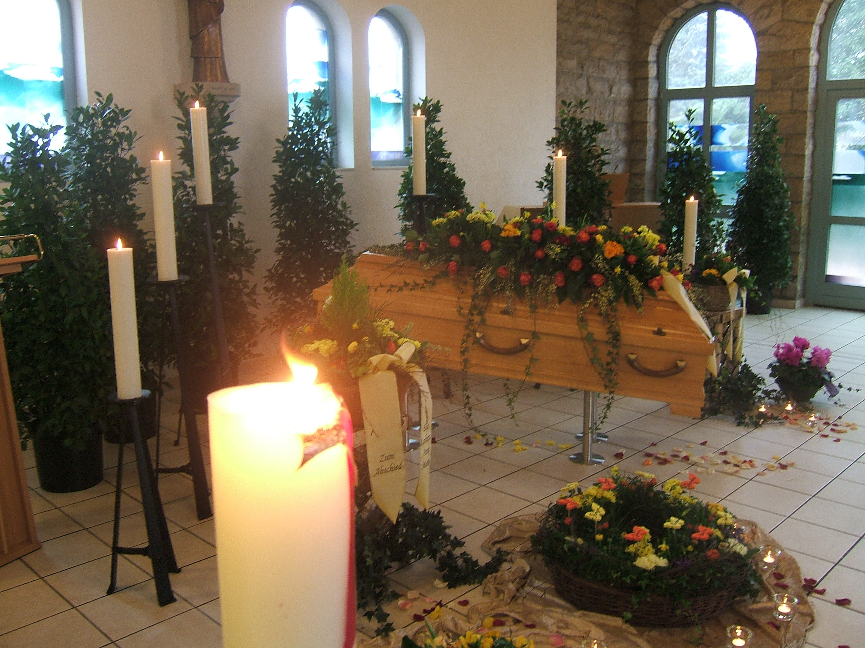 Nordstemmen Trauerfeier Friedenskapelle
