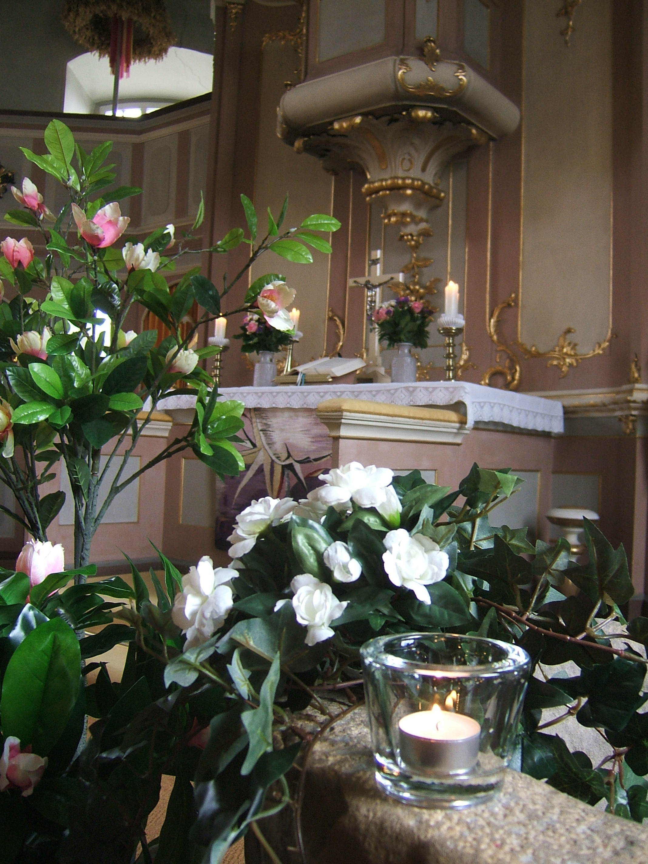 Altar Kirche Wülfingen Stadt Elze